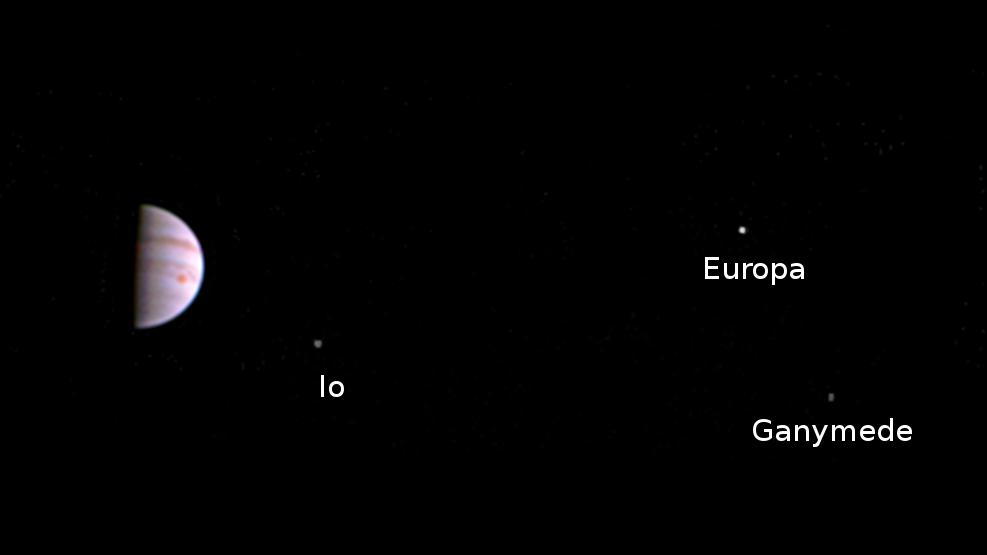 First Juno Photo NASA